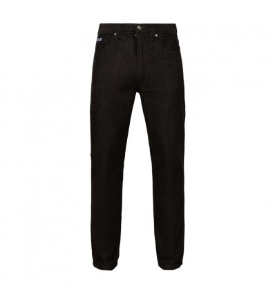 Jean black corte clásico